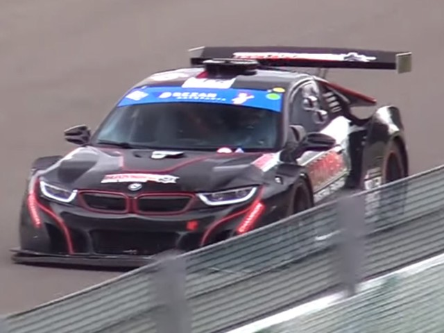 If Only BMW Made A Street-Legal, V8-Powered i8 Like This Racer