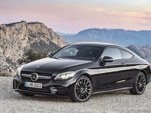 Wallpaper of the Day: 2019 Mercedes-AMG C43 Coupe