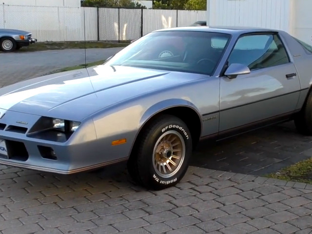 """1984 Chevrolet Camaro Berlinetta Tried To Lure Female Buyers With Luxury And """"Starship"""" Tech"""
