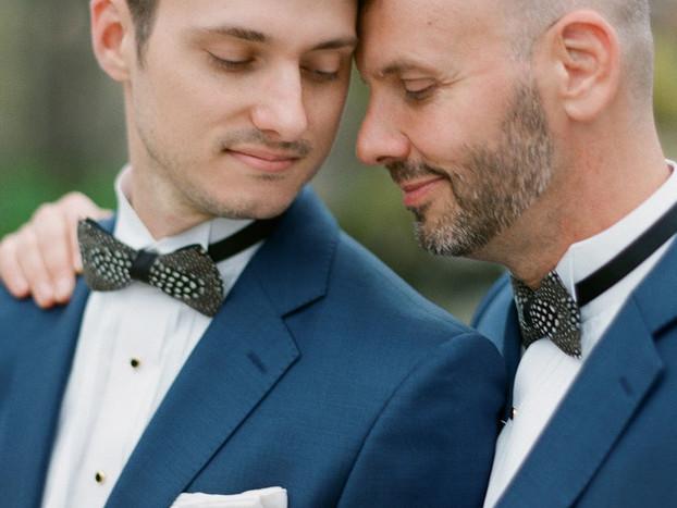 2 Handsome Gents Wed in a XVIIIth Century Villa + It's Stunning