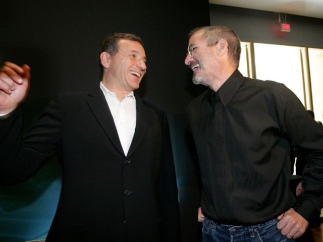 Bob Iger Says Disney and Apple May Have Merged If Steve Jobs Were Still Alive