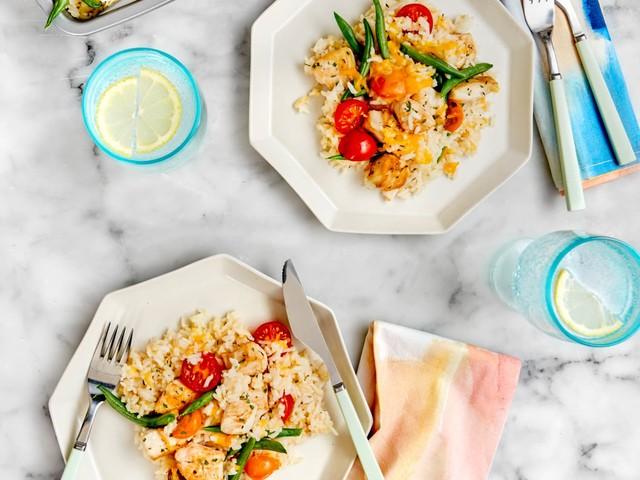 SPONSORED POST: Recipe: Sheet Pan Chicken and Rice Casserole