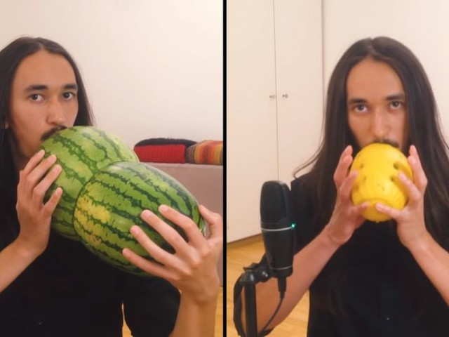 """Smash Mouth's """"All Star"""" Performed on Melons"""