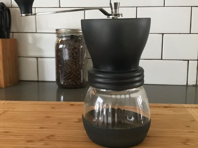 Most coffee grinders are expensive and more complicated than they need to be — I prefer this $45 manual grinder for its consistent results and ease of use