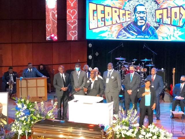 George Floyd Remembered at Powerful Memorial Service in Minneapolis