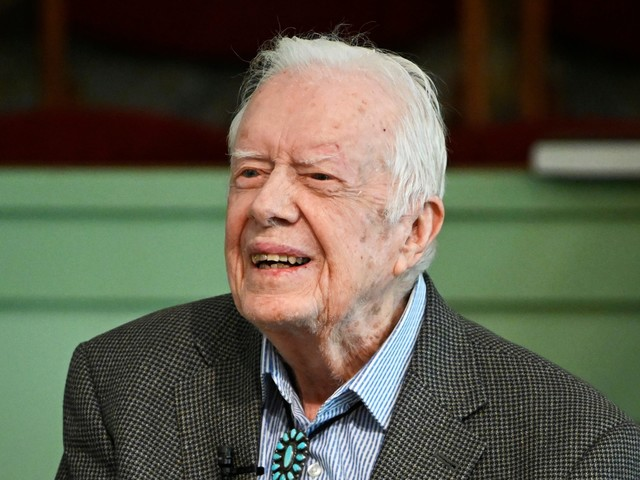 President Jimmy Carter admitted to hospital over weekend for urinary tract infection