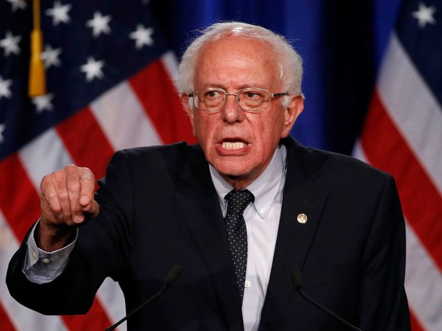 Labor fight roils Bernie Sanders campaign, as workers demand the $15 hourly pay the candidate has proposed for employees nationwide