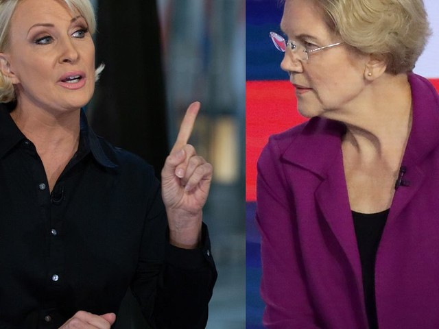Mika Brzezinski excoriates Liz Warren, accuses her of lying in feud with Bernie Sanders