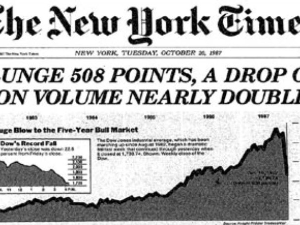 "Personal Recollections From The Crash Of 1987: ""There Was No 'Smart Money' That Day!"""