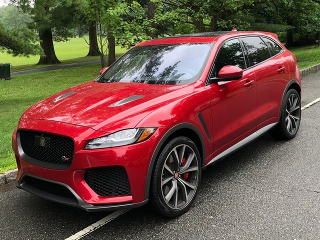 I drove a $90,000 Jaguar F-PACE SVR to see if it's the best value in high-performance SUVs — here's the verdict