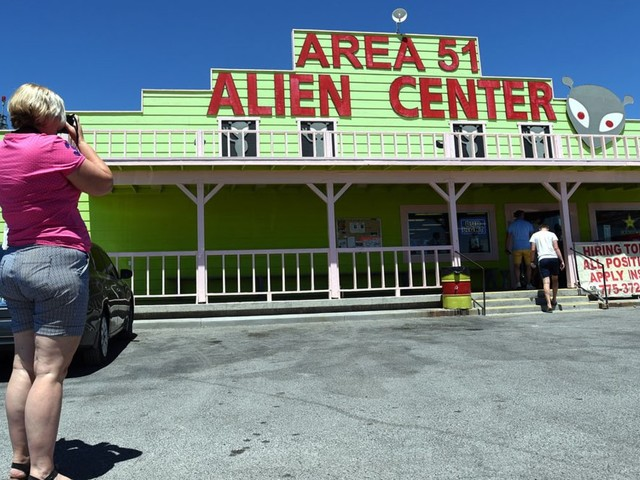 The air space around Area 51 is being closed by the FAA ahead of the planned 'Storm Area 51' event