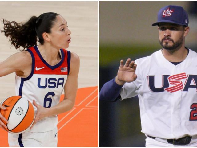 Sue Bird, Eddy Alvarez to carry U.S. flags at Olympics' opening ceremony