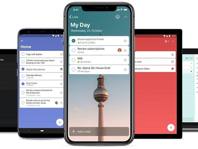 Microsoft Launches A New To-Do List App For Mobile Devices