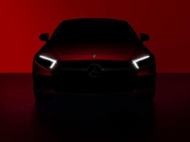 Mercedes-Benz Teases Redesigned 2019 CLS Before LA Debut