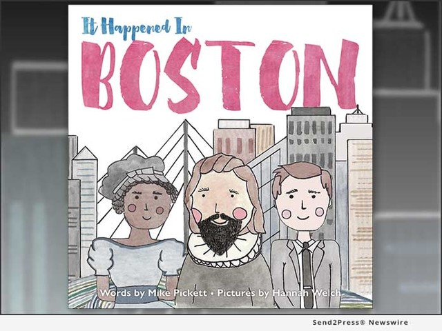 New Press Publishes Picture Book About Boston's History