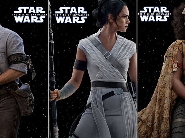Feast Your Eyes on 13 Glorious Character Posters From Star Wars: The Rise of Skywalker