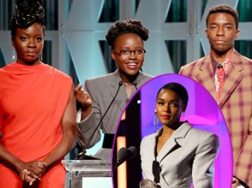 Janelle Monae COps Billboard's Trailblazer Award, Patti Labelle Calls Ariana Grande A 'Black White Girl' + 'Black Panther' Stars, Viola Davis Show Love At THR's Women Celebration