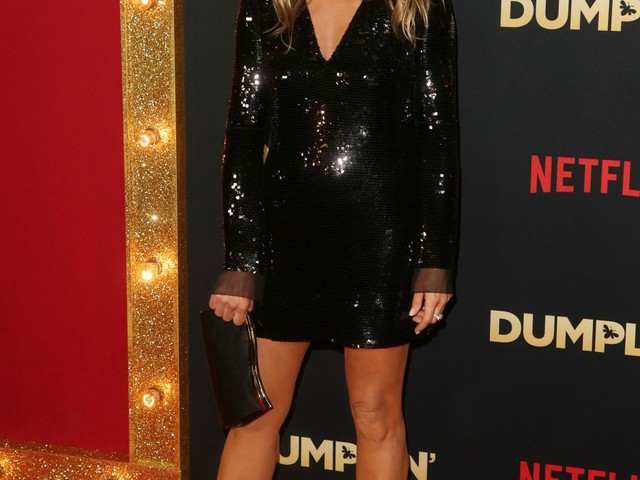 "Jennifer Aniston in Stella McCartney at the LA 'Dumplin"" premiere: cute or boring?"