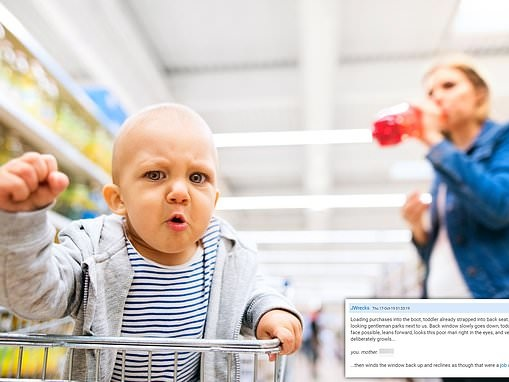 Mothers reveal toddlers have insulted customers and questioned their choices while in supermarkets