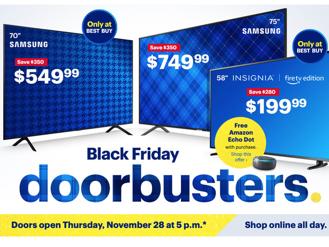 Best Buy unleashes colossal list of Black Friday deals, some available right now (Update: All deals live)