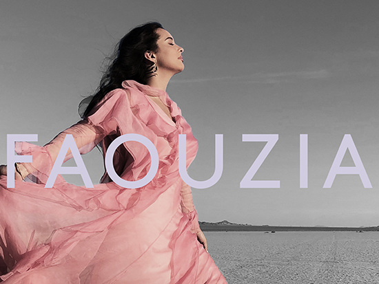 """Breakout Star Faouzia Soars On Emotional Anthem """"The Road"""""""