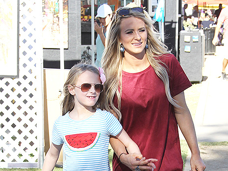 'Teen Mom 2's Leah Messer Faces Backlash For Allowing Daughter, 10, To Wear Skimpy Outfits