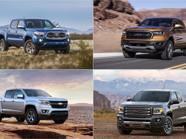 2019 Safest Small Pickup Trucks