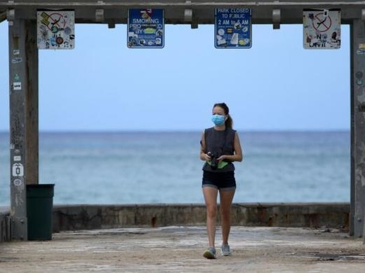 Hawaii Lt. Governor: Everyone Should Wear A Mask When Leaving Home