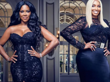 Kenya Moore & NeNe Leakes Reportedly Get Into Heated Argument Over NeNe Being Too Friendly With Kenya's Now Ex-Husband Marc Daly