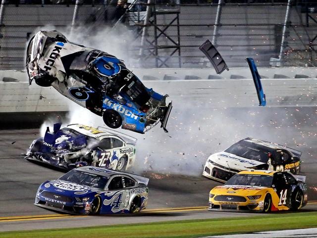 Drivers, President Donald Trump express concern for Ryan Newman after wreck at Daytona 500