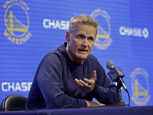 Steve Kerr responds to backlash for his silence on China: 'I choose not to be a sound bite'