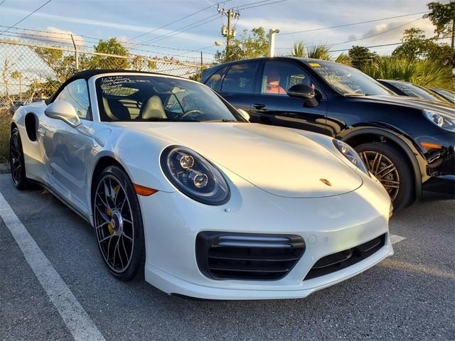 2017 Porsche 911--Turbo