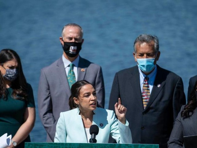 AOC reintroduces the Green New Deal to fundamentally transform the US economy
