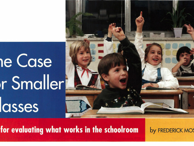 From the Archives: The Case for Smaller Classes