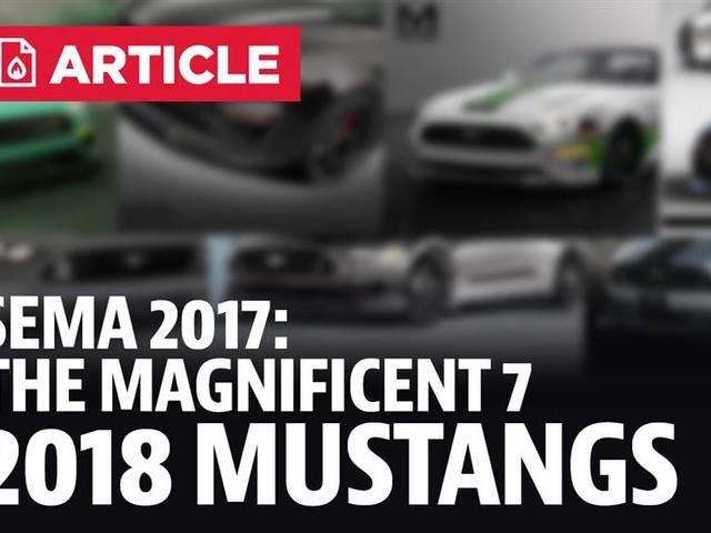 Ford's 2018 Mustang Sema Lineup
