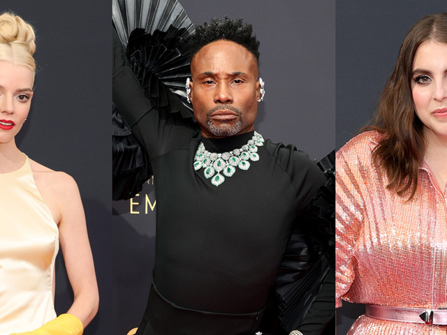Best Dressed at Emmys 2021 - See Our Top 15 Favorite Red Carpet Looks!