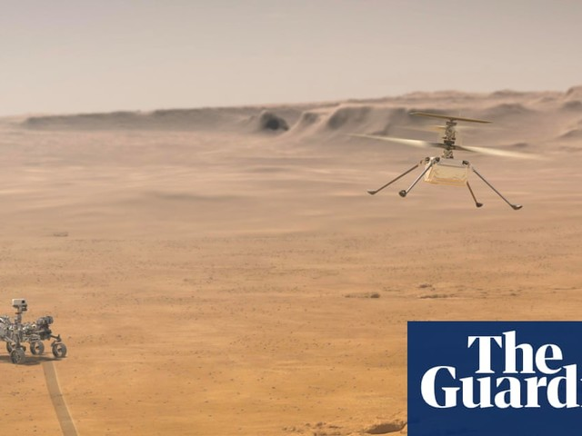 Mars helicopter Ingenuity: Nasa about to try historic flight