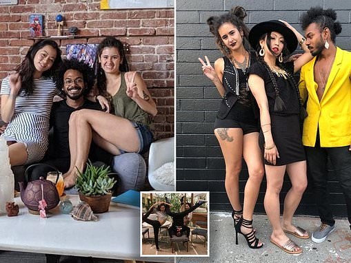 Married couple start a three-way relationship with a schoolteacher, 26, they met in a yoga class
