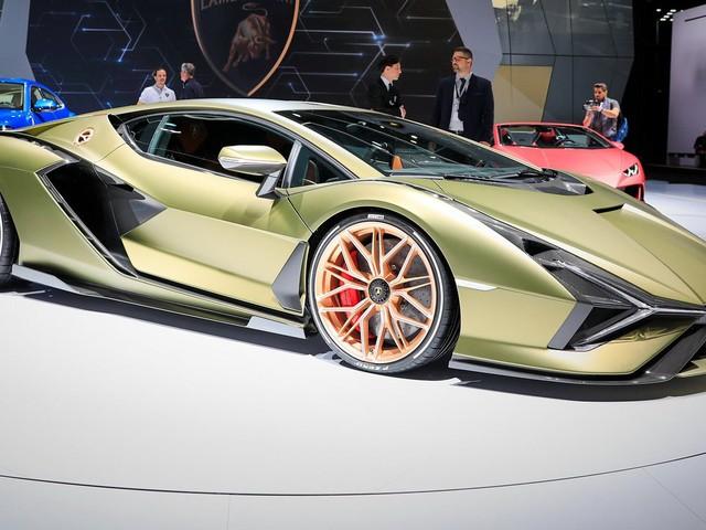 Lamborghini Sian's Design Will Not Influence Next Aventador