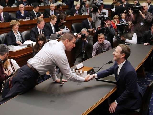 Republicans Couldn't Stop Thanking Mark Zuckerberg for His Contribution to Capitalism