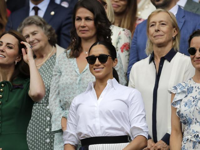 Halep star struck at meeting duchesses at Wimbledon