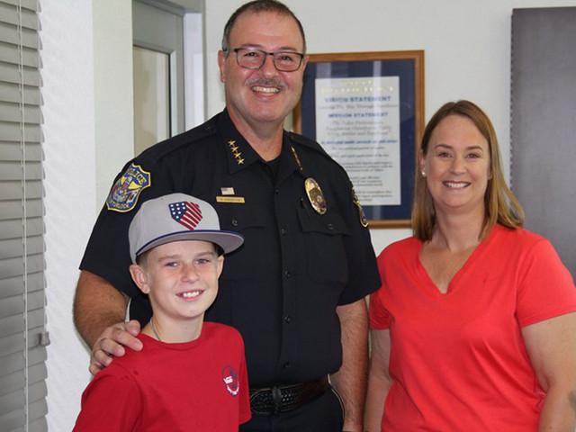 Turlock Boy Recognized for Saving His Mom's Life