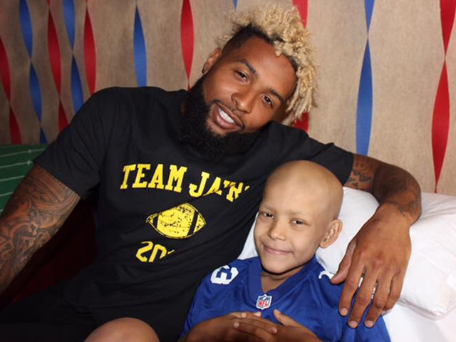 The story behind Odell Beckham's visit to cancer-stricken kid