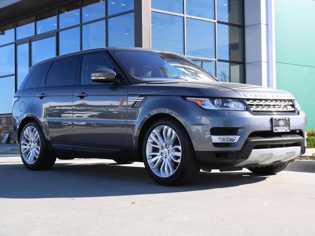2016 Land-Rover Range--Rover--Sport V6 Diesel HSE