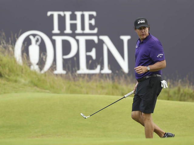 Phil Mickelson honored for 25 years in top 50