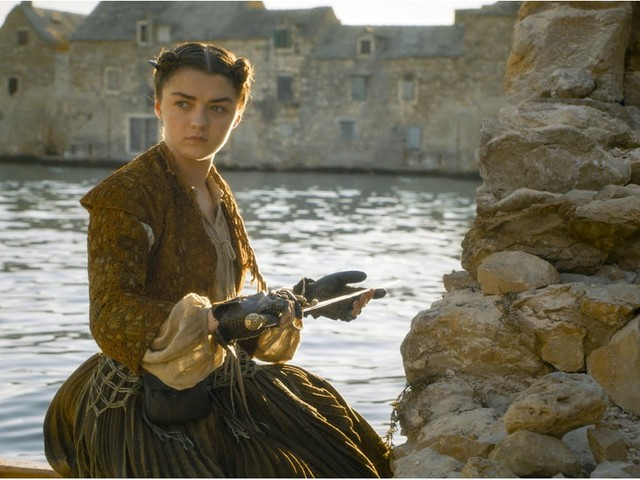 """Maisie Williams Just Gave Us a Hint About Arya's """"Beautiful"""" Final Scene in Game of Thrones"""