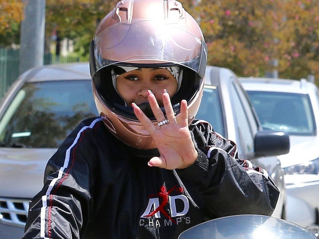 Blac Chyna Takes Her Three-Wheeler For a Spin Around Town
