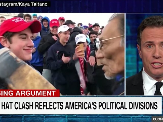 CNN anchor hits out at 'Trumpers' over Greta Thunberg — gets quickly reminded of his network's settlement with Covington teen