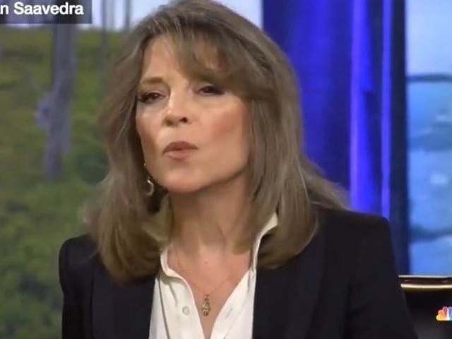 LAUGH: Marianne Williamson explains why she has a problem with nuclear energy