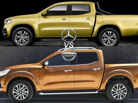 Mercedes-Benz X-Class VS Nissan Navara